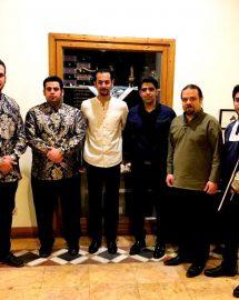اجرای موفق گروه طیلسان در خانه هنرمندان ایران